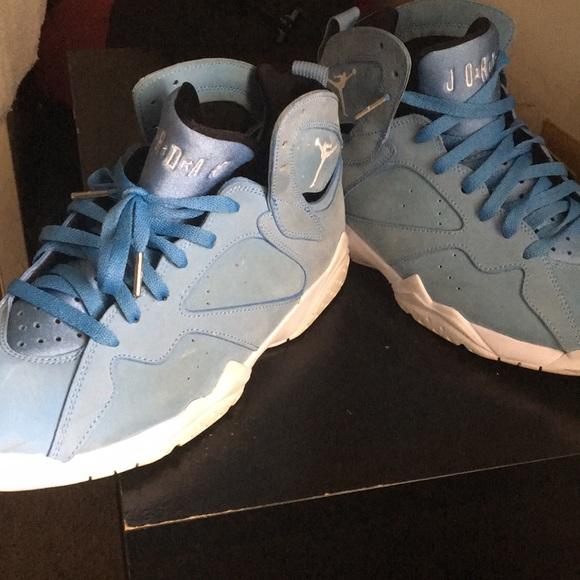 Jordan Shoes   Carolina Blue 7s   Poshmark